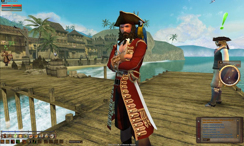 pirates online game