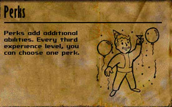 News: Design Your Own Fallout 3 Perk   MegaGames