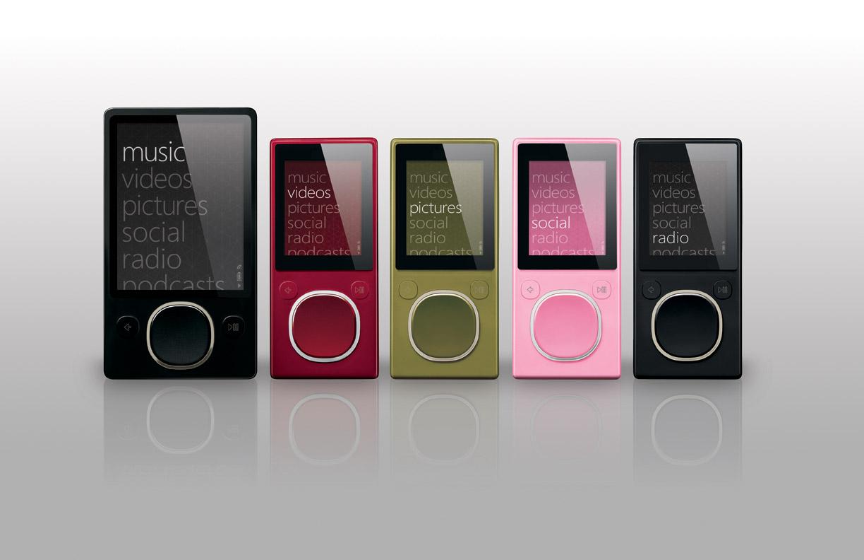 Microsoft zune wireless music player the register - Microsoft Reveals Two New Zune Models