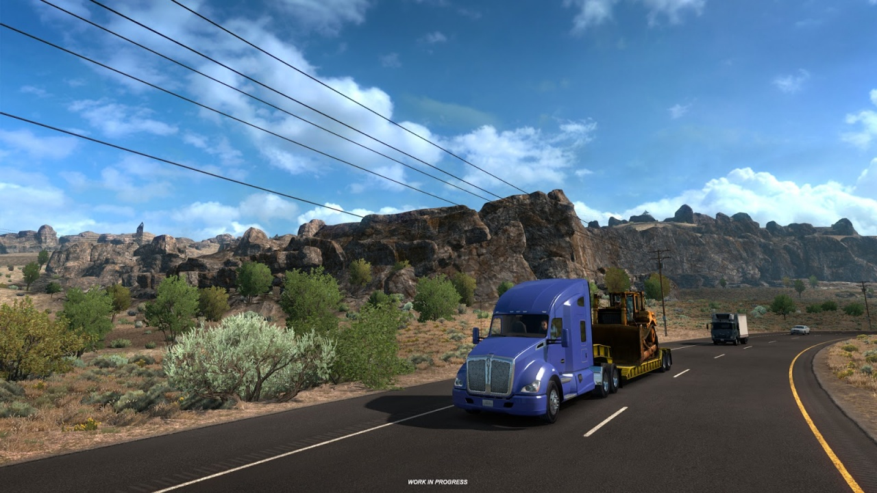 Game Trainers: American Truck Simulator v1 32 x (+14 Trainer