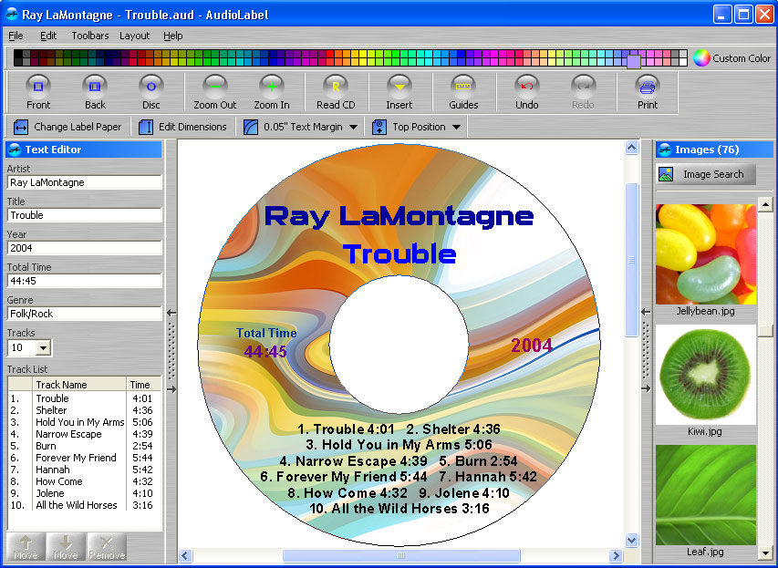 S audiolabel cd dvd labeler v4 3 build 1 megagames for Publisher dvd cover template
