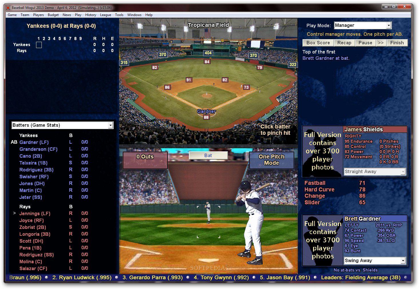 demos  pc  baseball mogul 2013 demo