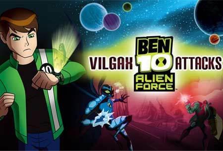 Game Cheats: Ben 10: Alien Force - Vilgax Attacks | MegaGames