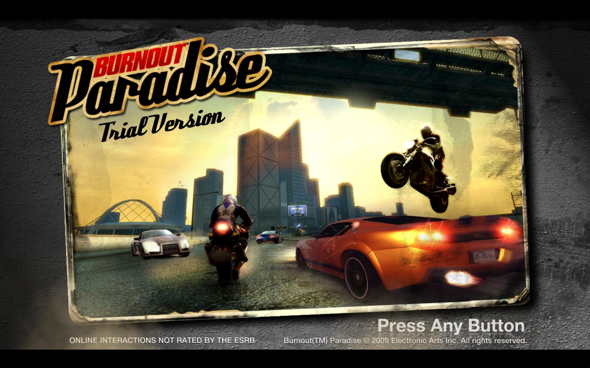 demos  pc  burnout  paradise  the ultimate box demo