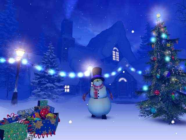 S Christmas 3d Screensaver Megagames