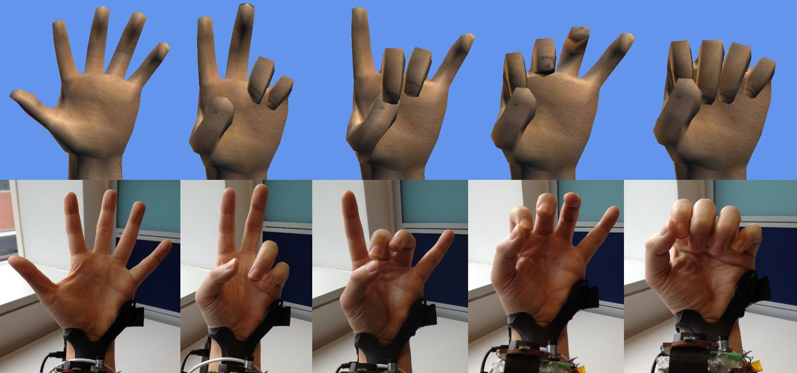 how to add hand gestures to a video