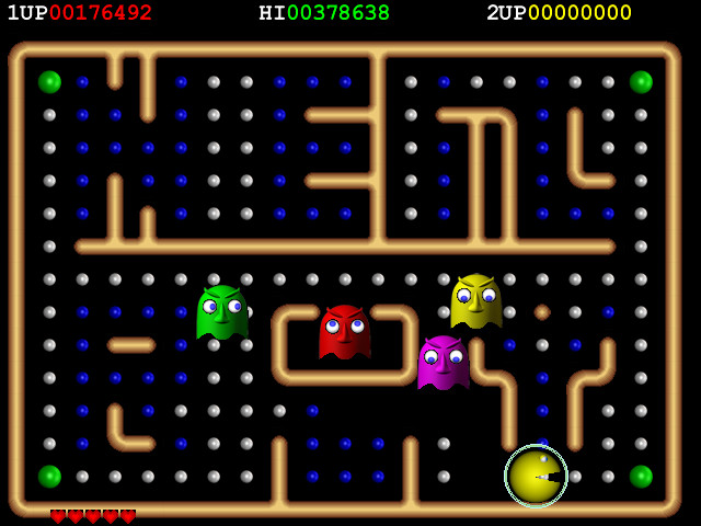 the old pacman game free
