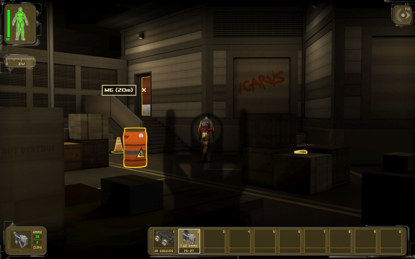 MOD Hardcore Revival for Deus Ex Human Revolution. The Hardcore Revival Mod for Deus Ex Human Revolution changes : - What items the merchants are selling, - The price, size and stacking values of the items, - What augmentations are enabled or disabled by default, - The weapons' power.