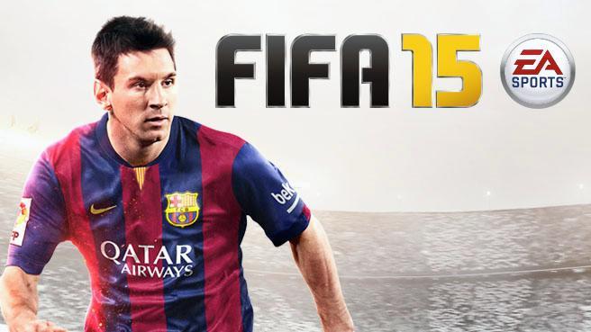 Fifa 15 Cover Messi FIFA 15