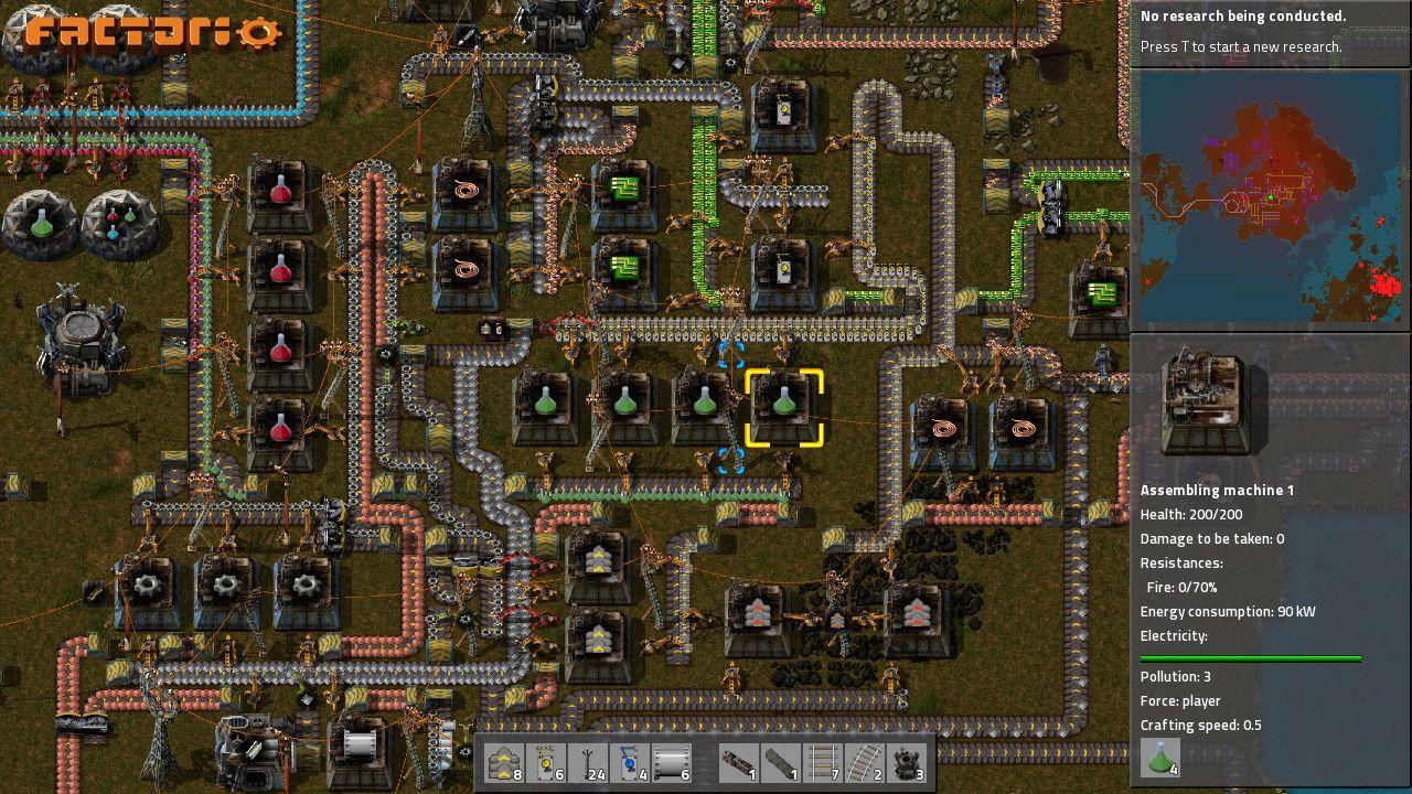 Demos Pc Factorio Demo V0 12 35 Megagames