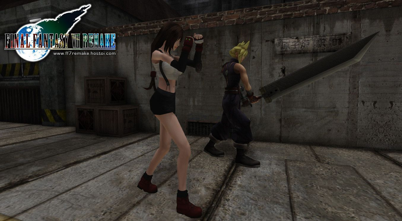 Final fantasy vii tifa no ura 3d 5