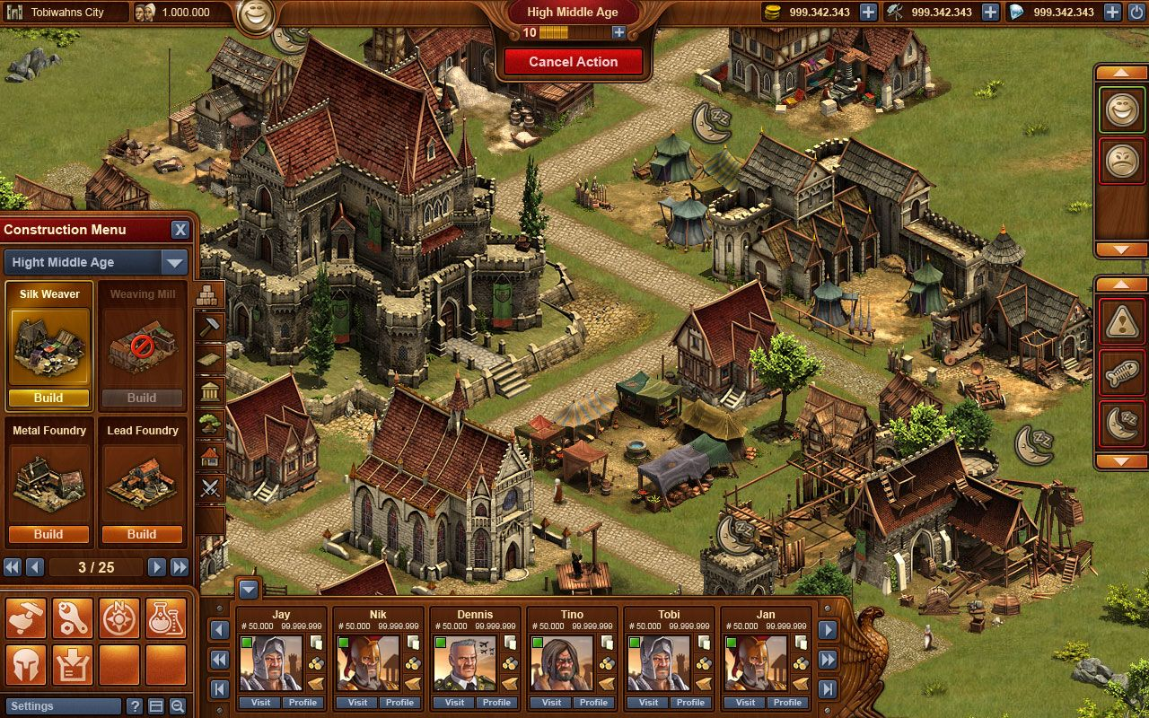 games forge of empires megagames. Black Bedroom Furniture Sets. Home Design Ideas