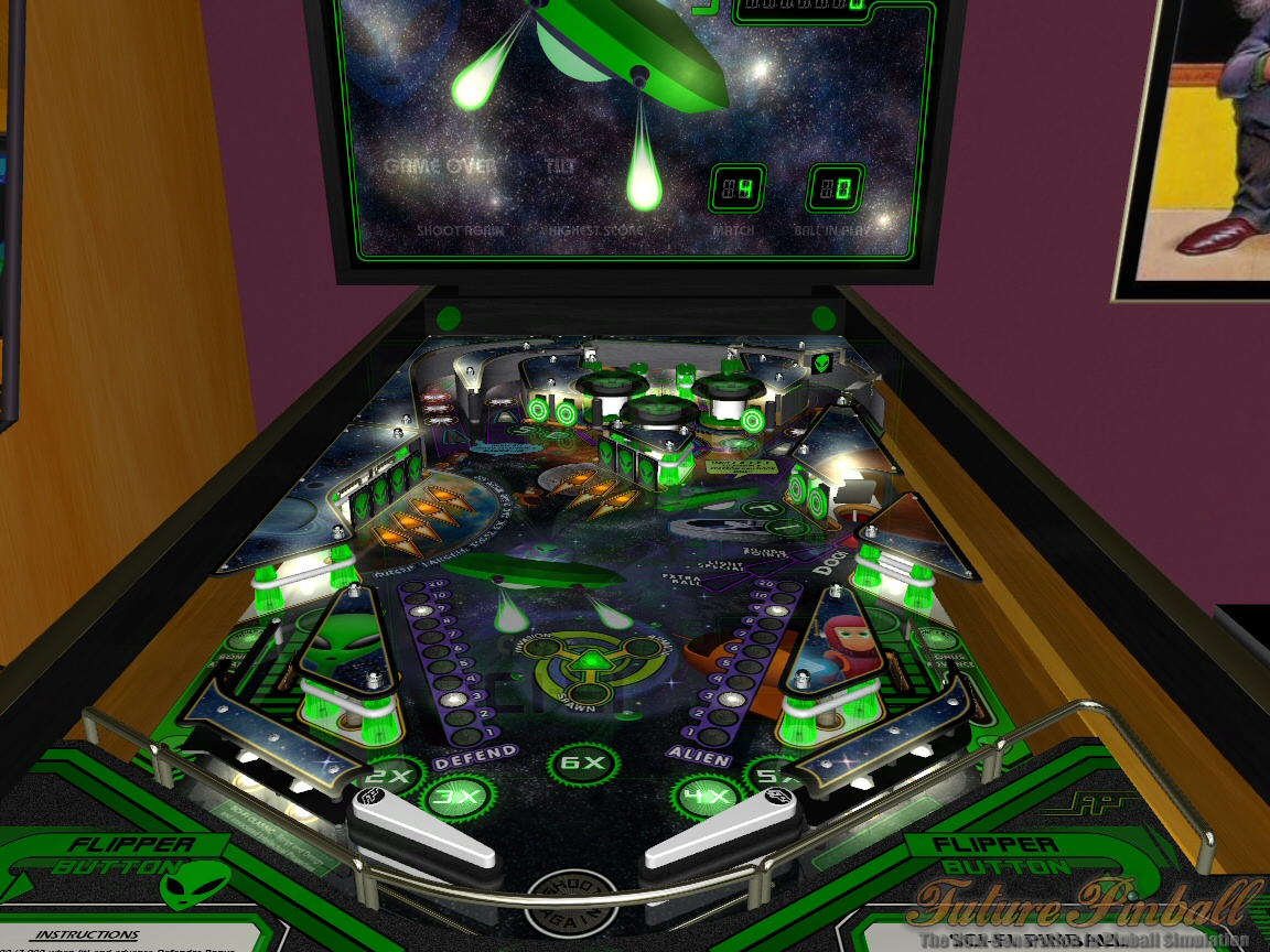 freeware    freegame  future pinball v1 8 20080323