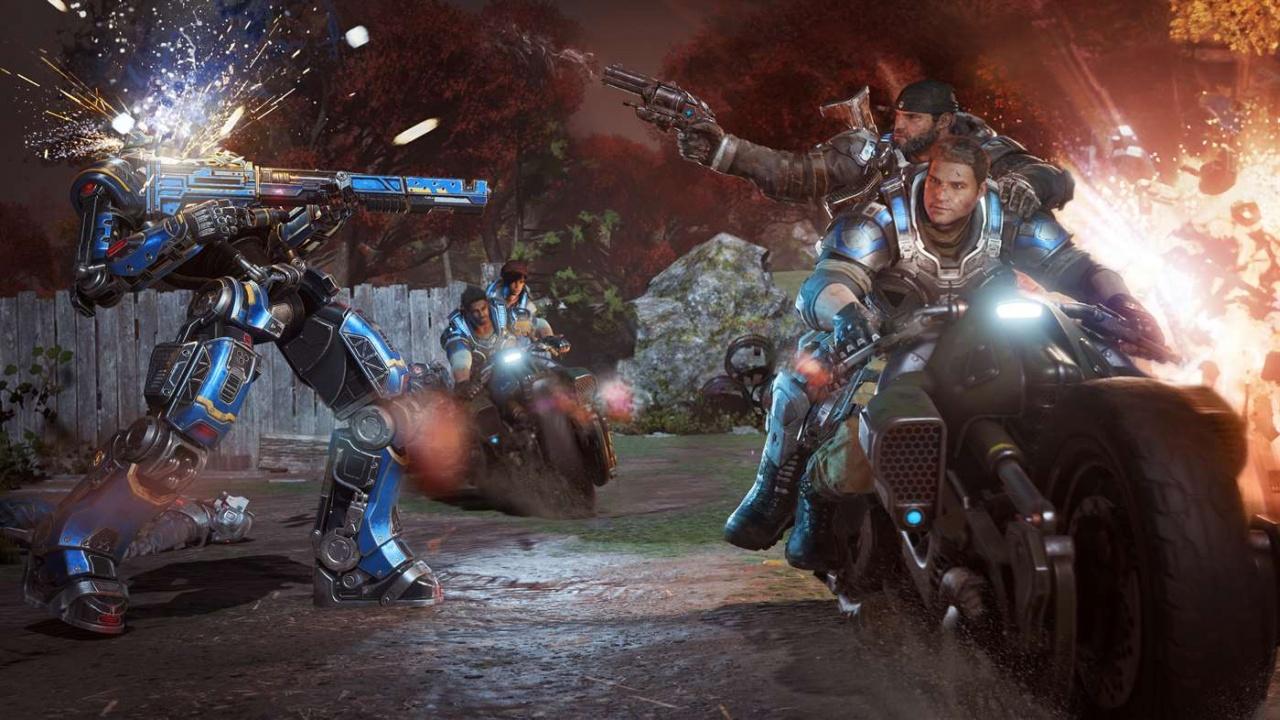 Game Trainers: Gears of War 4 v12 0 0 2 (+12 Trainer) [FutureX