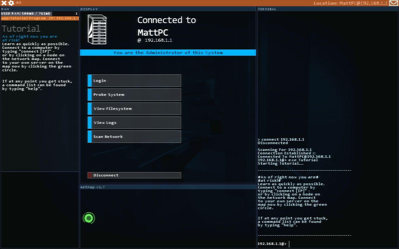 hacknet how to download files