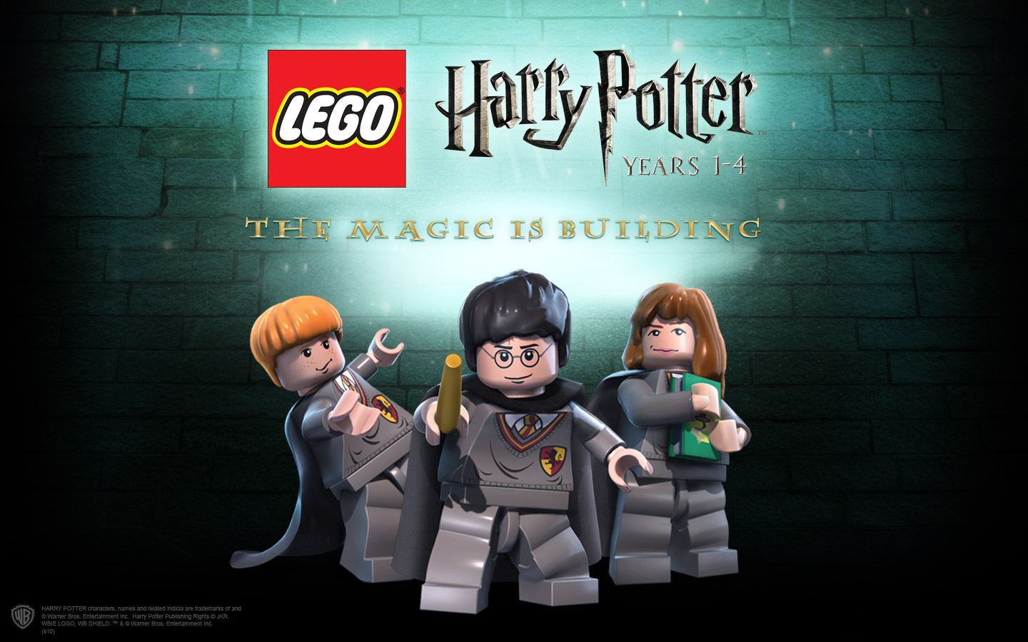 Lego Harry Potter: Years 1-4 (+7 Trainer) [CES/LinGon]