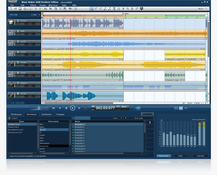 Magix music maker 14 producer ed version13.0.2.1