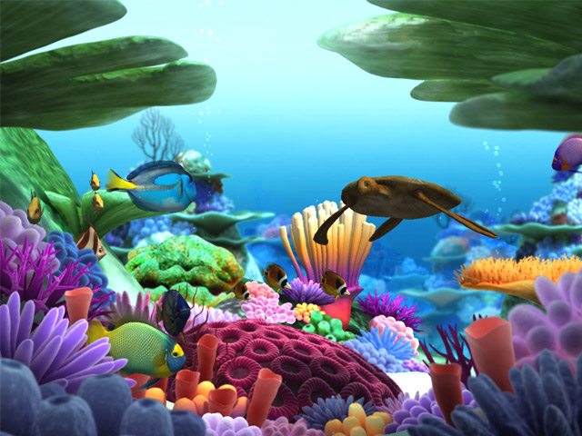 Wii U Screen Savers : S marine life d screensaver megagames