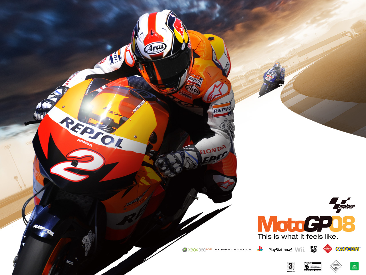 Demos: PC: MotoGP 08 Demo | MegaGames