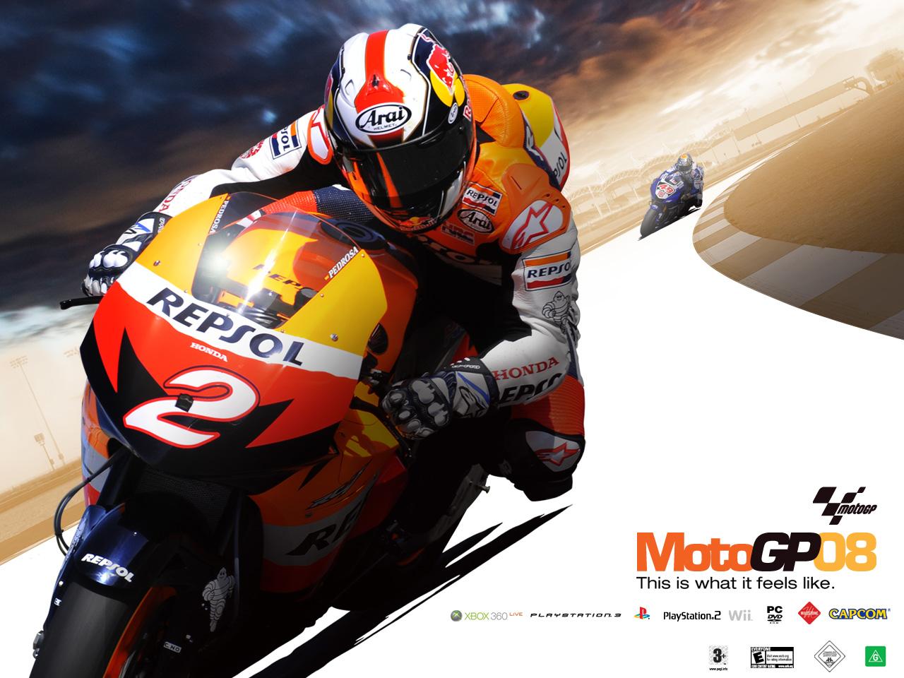 Demos: PC: MotoGP 08 Demo   MegaGames