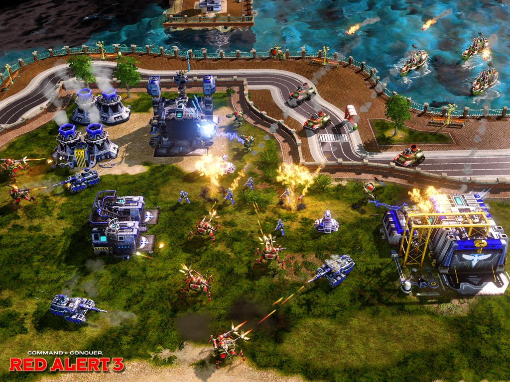 Game Patches: Command & Conquer Red Alert 3 Patch V1.05
