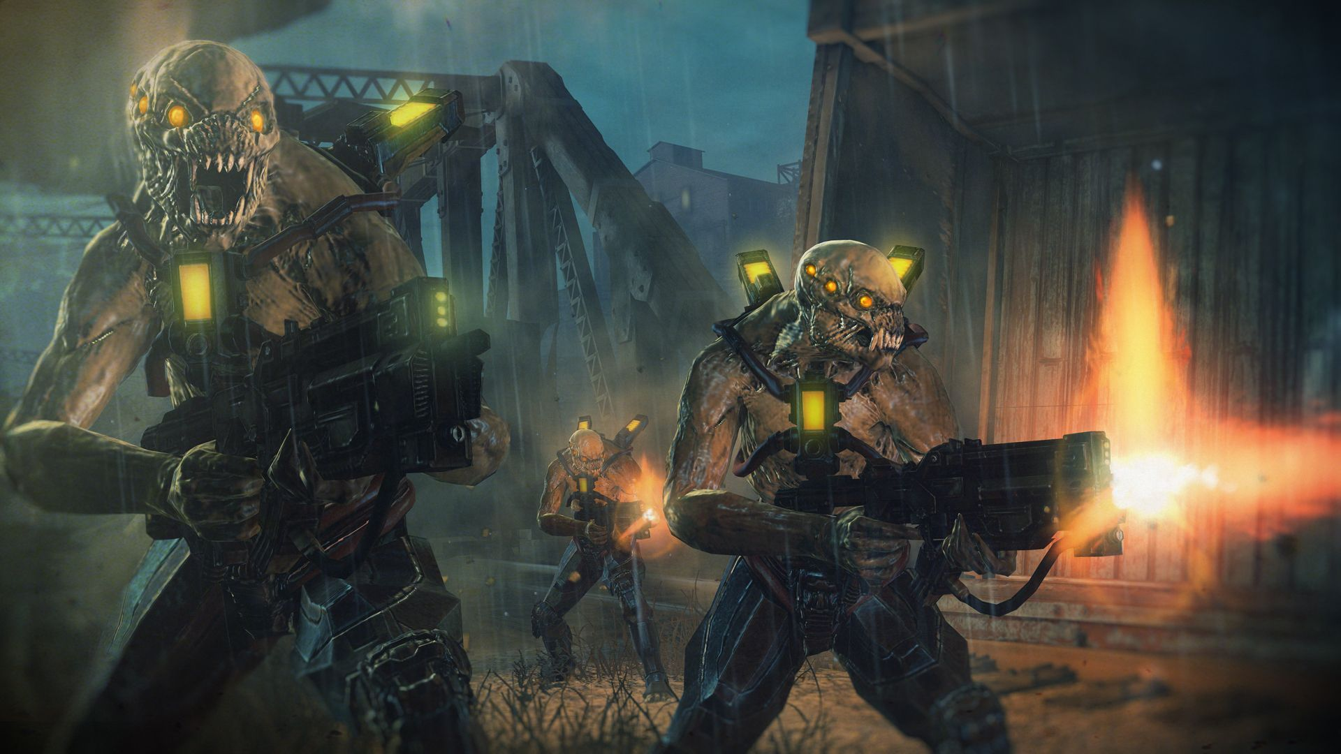 The Locust Gears Of War Vs The Chimera Resistance