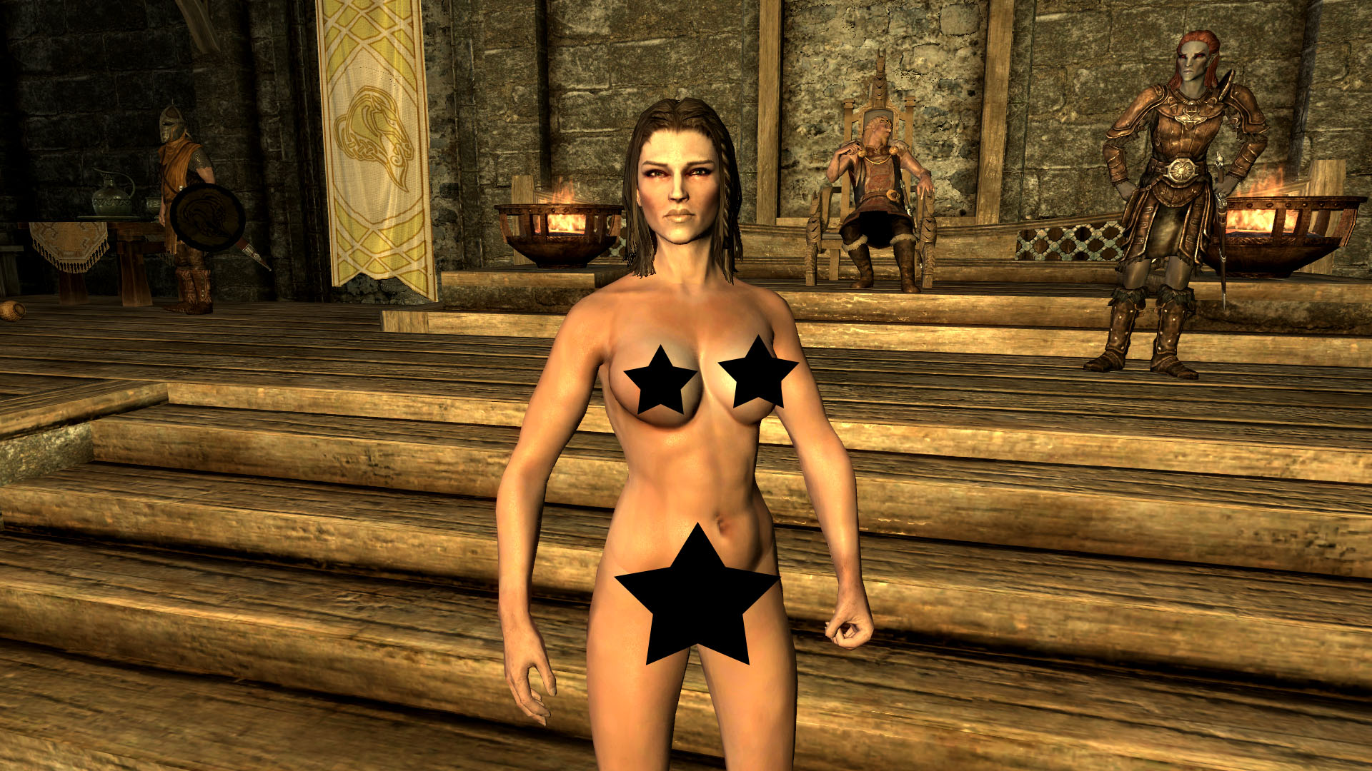 Opinion you Skyrim nude patch