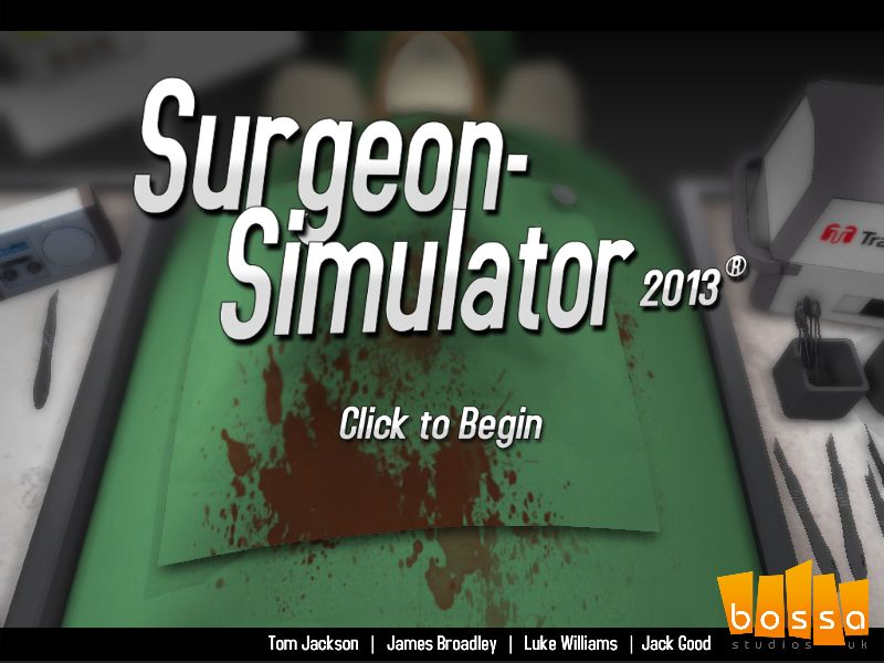 [Aporte] Surgeon Simulator 2013