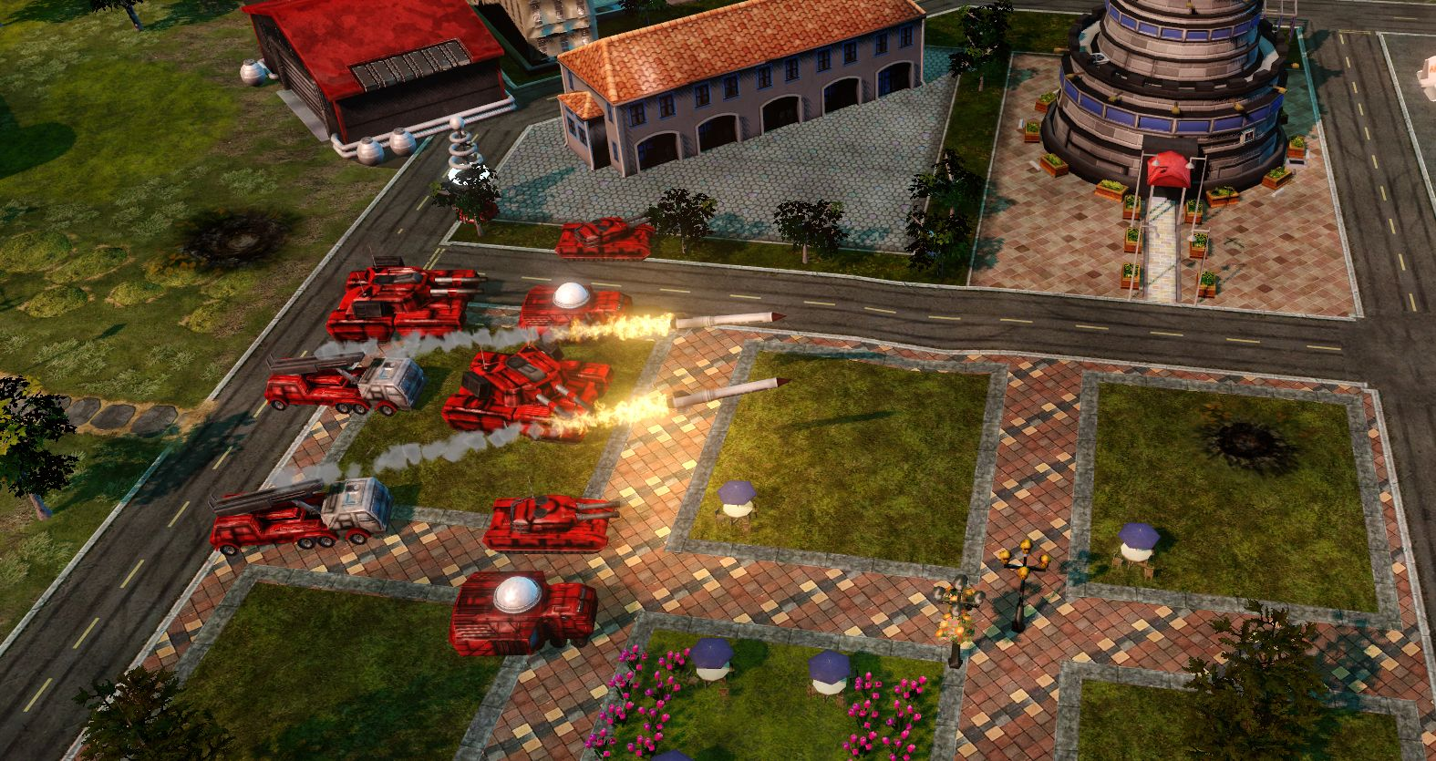 Command & Conquer - Alarmstufe Rot (PC) Auch bekannt als: Command & Conquer - Red Alert Andere Systeme: [PlayStation] Genre: Strategie Erschienen: Mai 1996