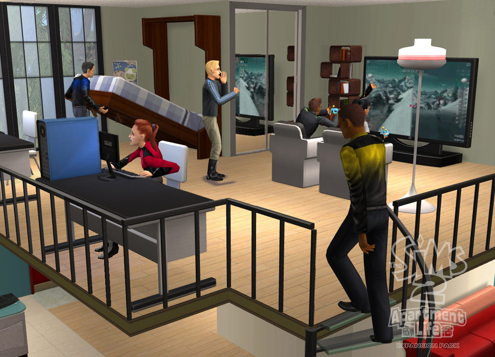 The Sims 2 Apartment Life full game free pc, download, play