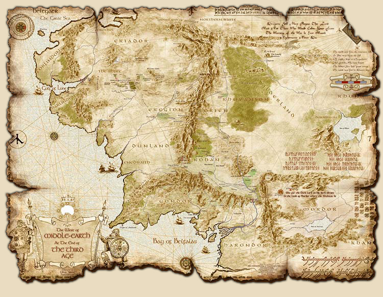 Did Maps In Middle Earth Have West: Game Mods: Medieval 2: Total War