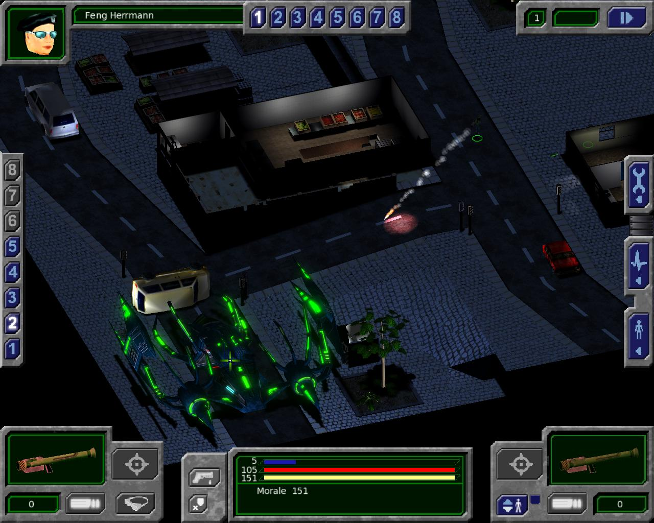 Erotic alien invasion game