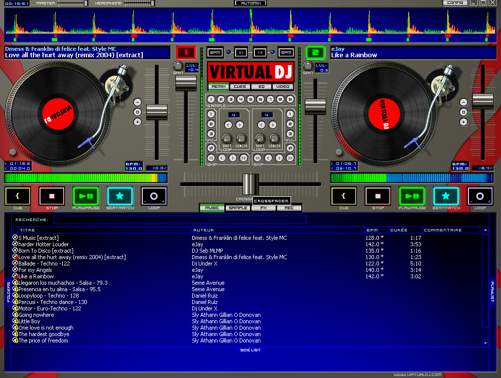Tools atomix virtual dj v5 megagames for Virtual home software