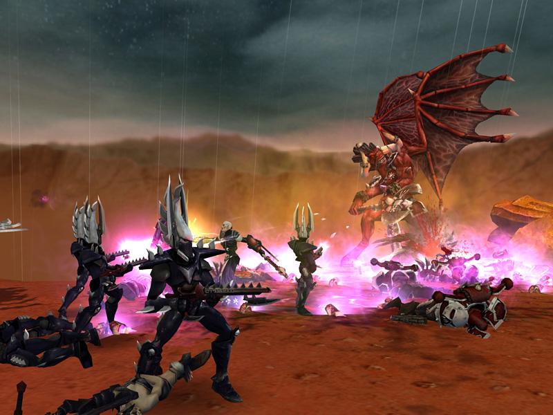Скриншот 12 для Warhammer 40,000: Dawn of War - Soulstorm.