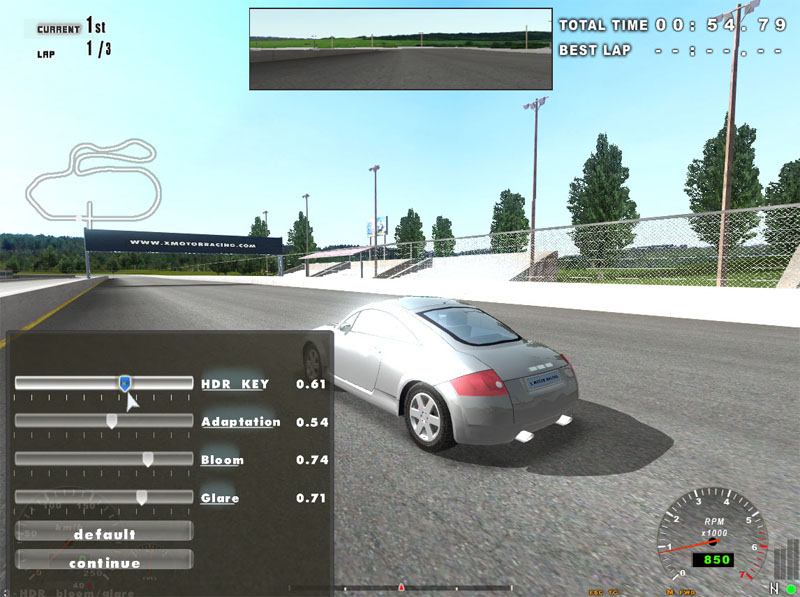Demos: PC: X Motor Racing Demo v1.12 | MegaGames