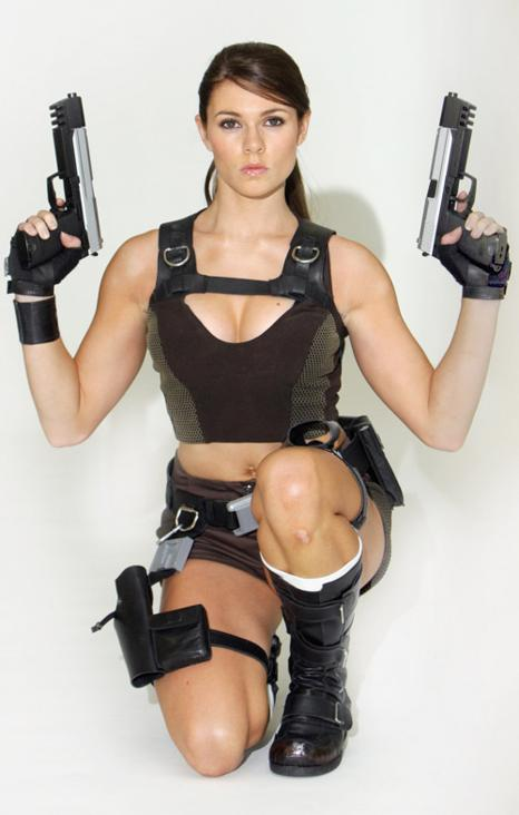 Tomb Raider The Official Models Picture Gallery Section