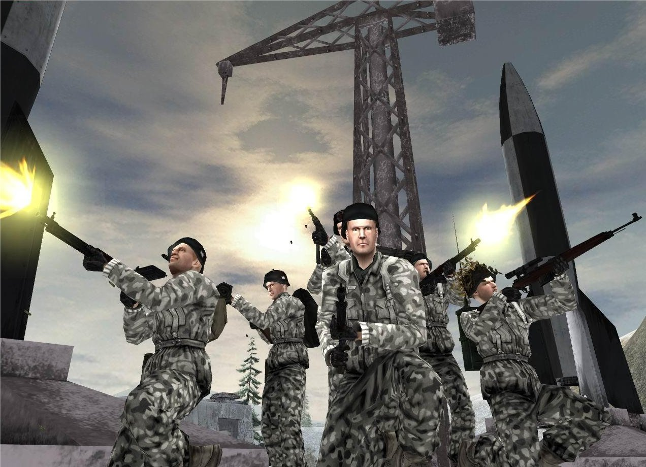 Demos: PC: Battlefield 1942: Secret Weapons of WWII Demo   MegaGames