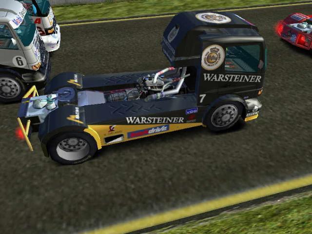 Demos playstation 2 mercedes benz truck racing megagames for Mercedes benz games