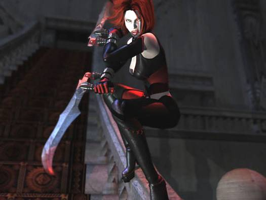 br2ct BloodRayne 2 PC File: Nude Patch Babe
