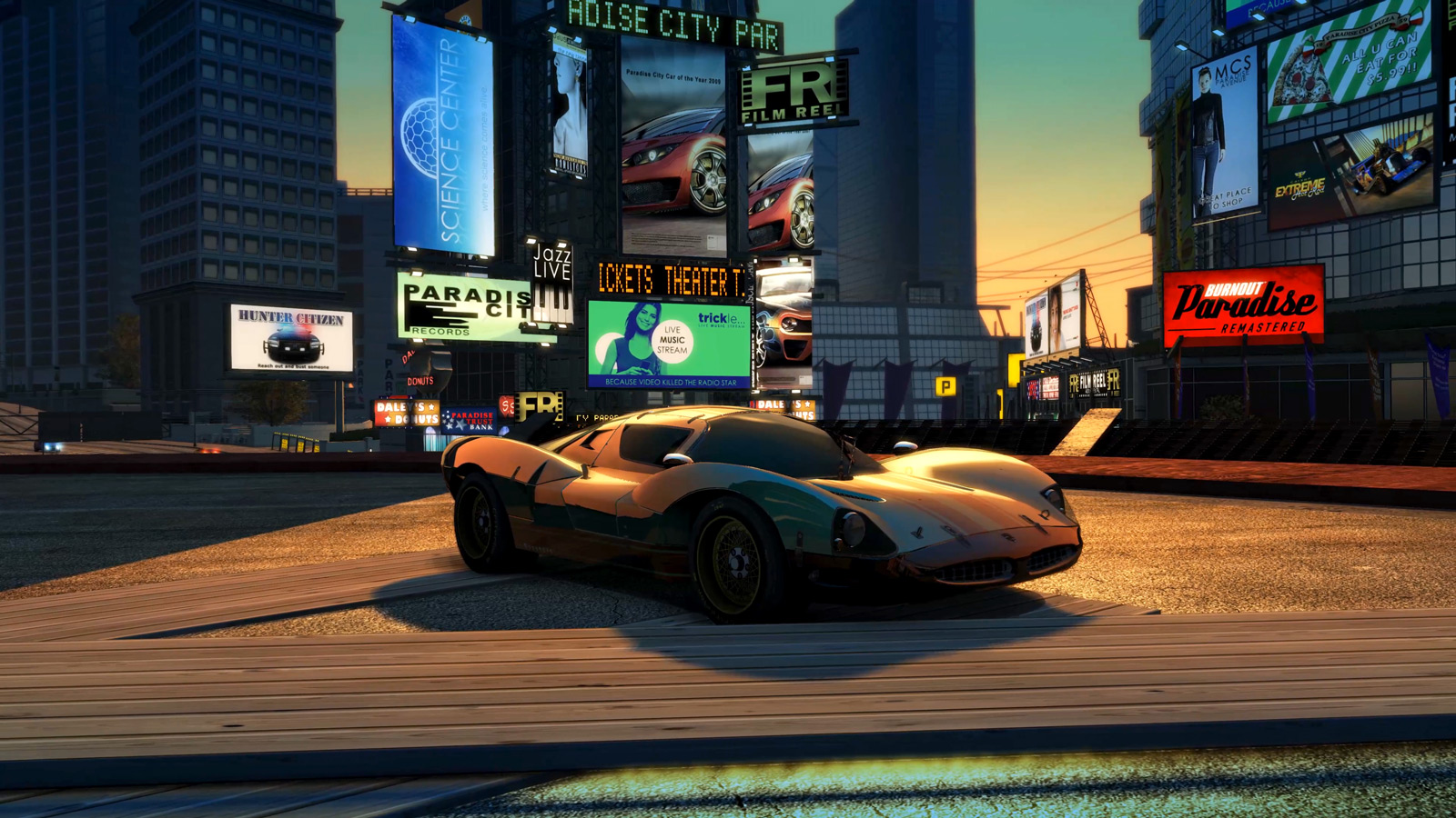 Burnout Paradise is back and remastered for current gen