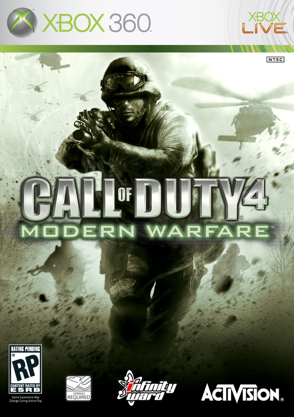 News Vote For Call Of Duty 4 Box Art Megagames