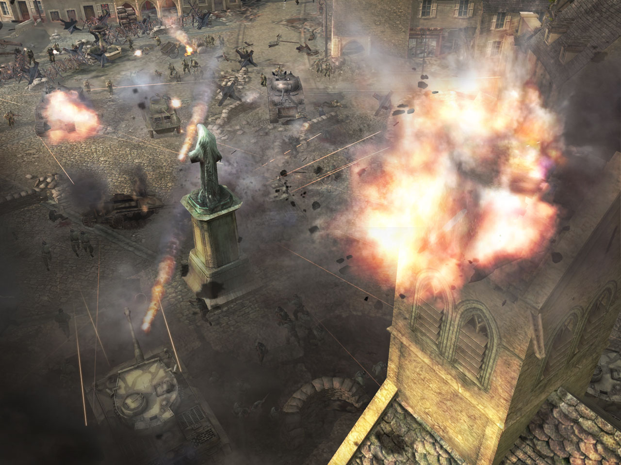 company of heroes game trailer
