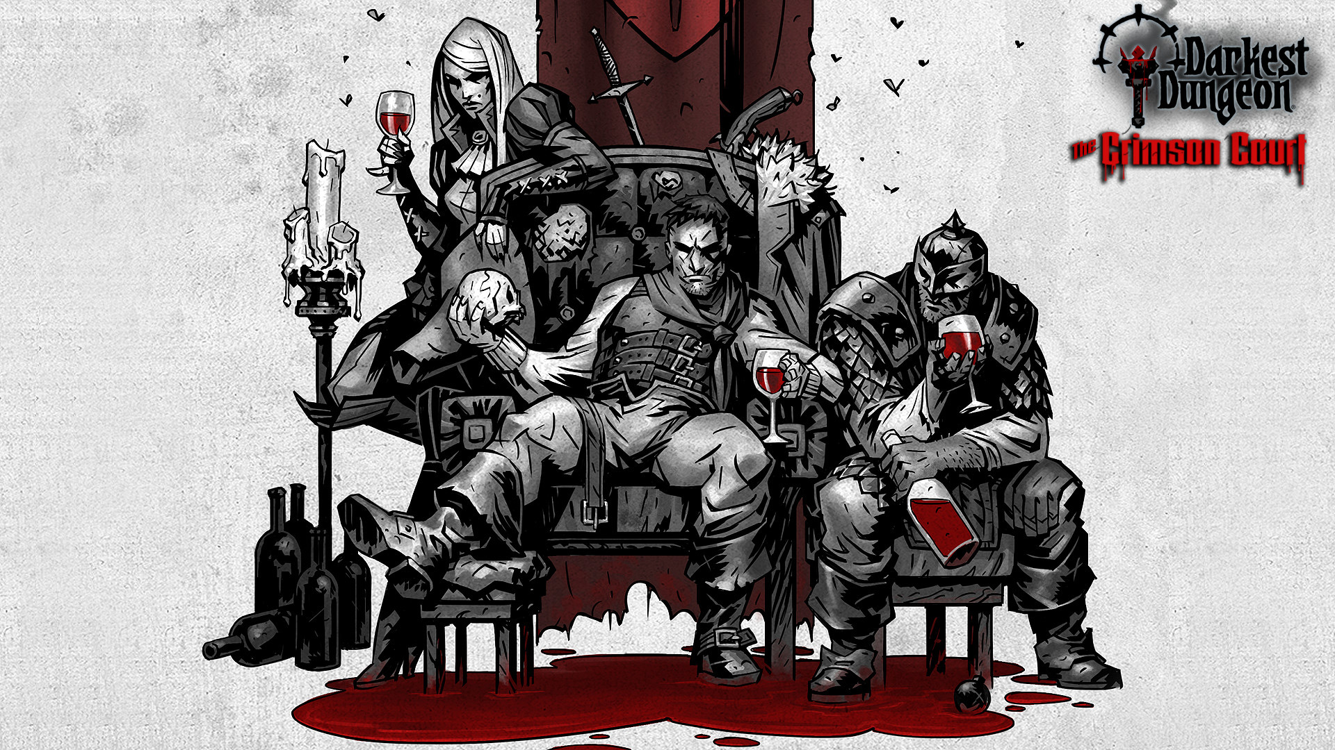 Crimson Court Expansion Announced for Turn-Based Strategy Darkest Dungeon