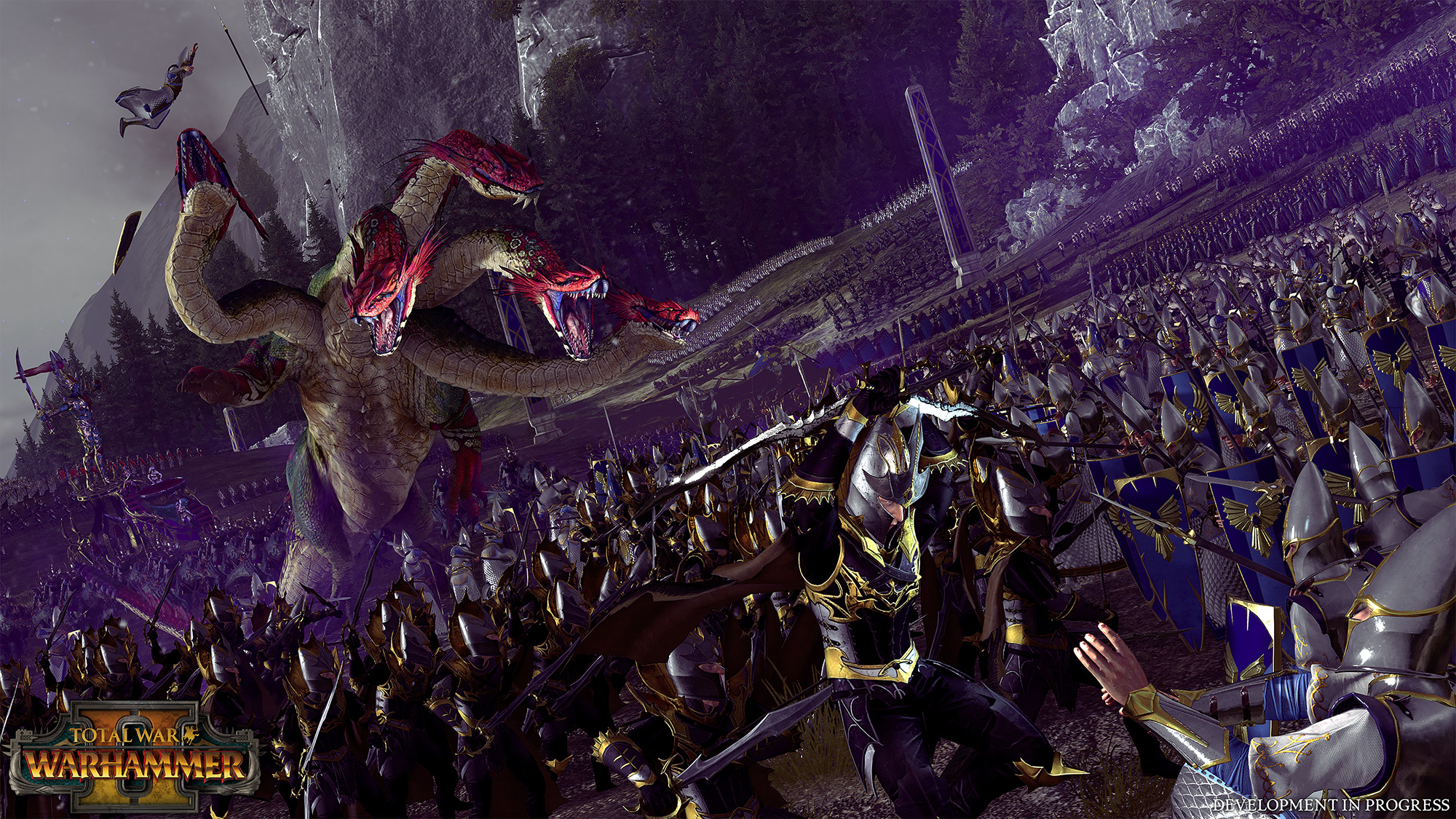 Total War: Warhammer 2 Dark Elves revealed in new trailer and shots