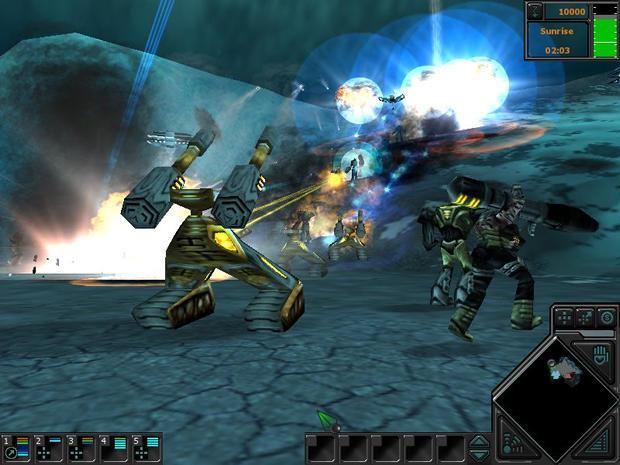 Dark Reign 2 No-CD Patches Game Fixes- GameBurnWorld