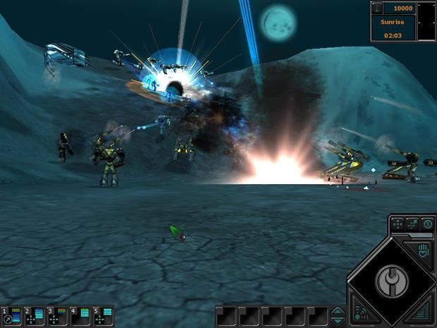 Demos pc dark reign 2 demo megagames for Dark reign 2