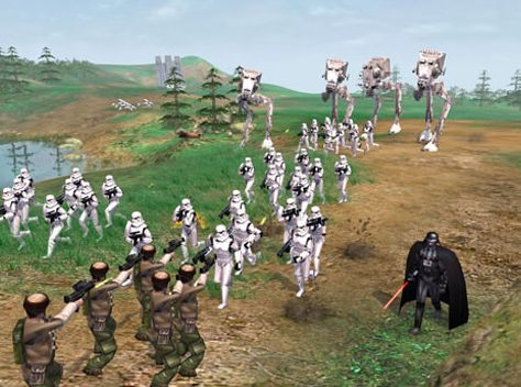 Star Wars: Empire At War 1.04 - Game - Nieuws - Tweakers