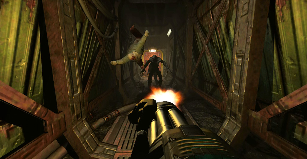 Bethesda Warns Against Installing Doom 3 BFG Edition On Xbox 360