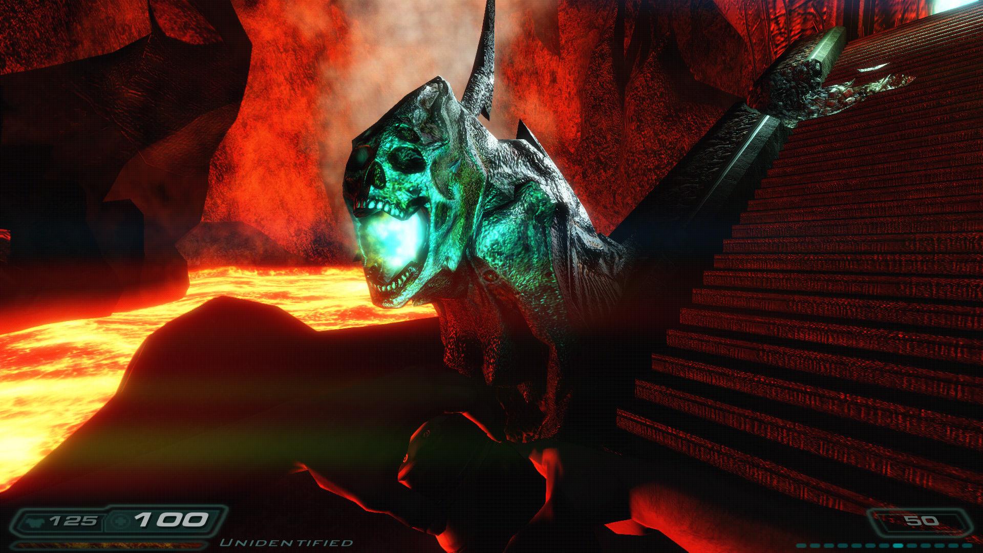 Xbox 360 Console Mods Game Mods: Doom 3 - Pe...