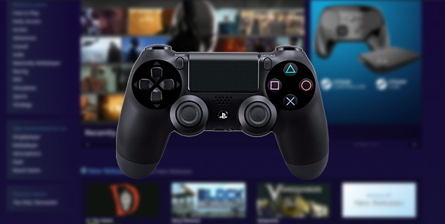 Steam Now Properly Supports the PS4 Controller